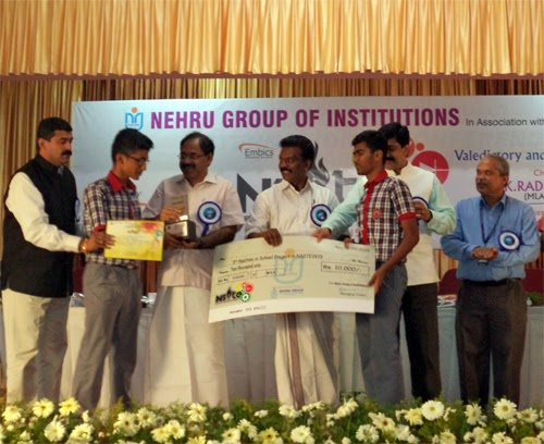 KV Kanjikode Students win at NSITE 2k15