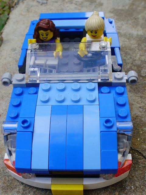 Set LEGO Creator 6913 Blue Roadster