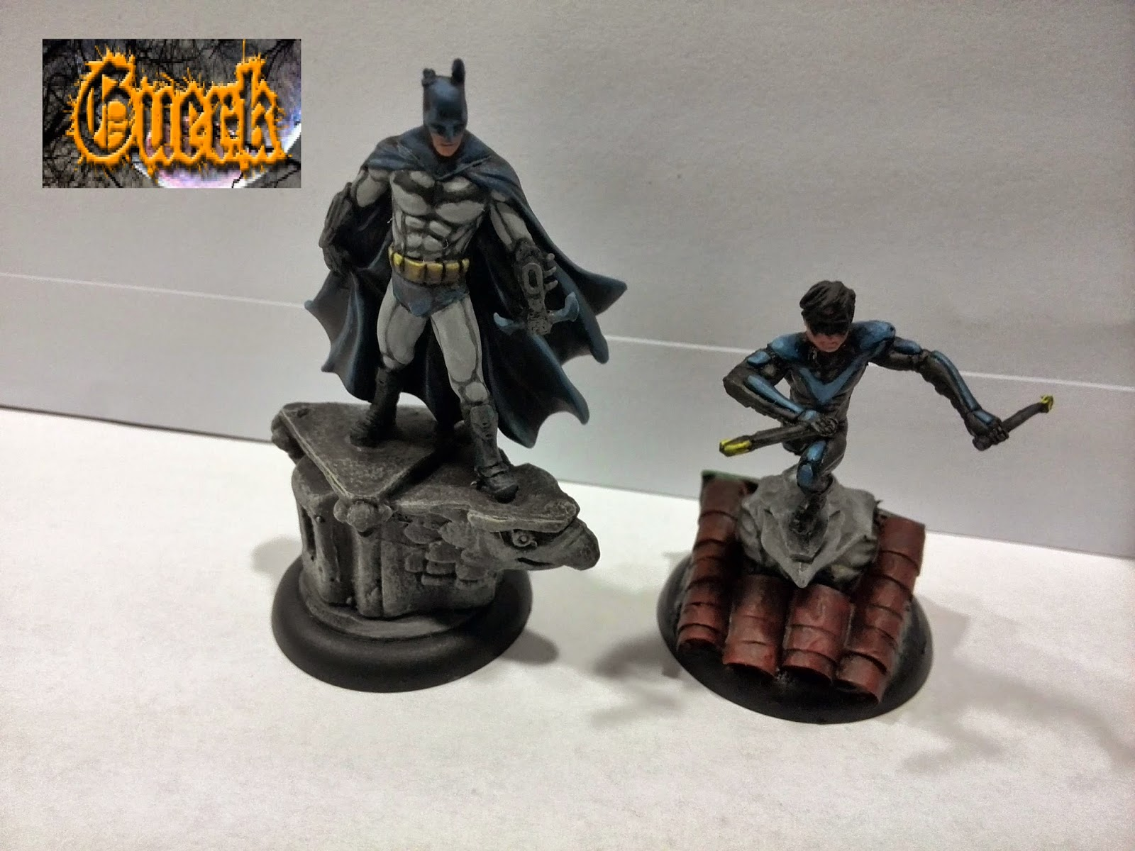 Batman miniature Game Batman y Nightwing