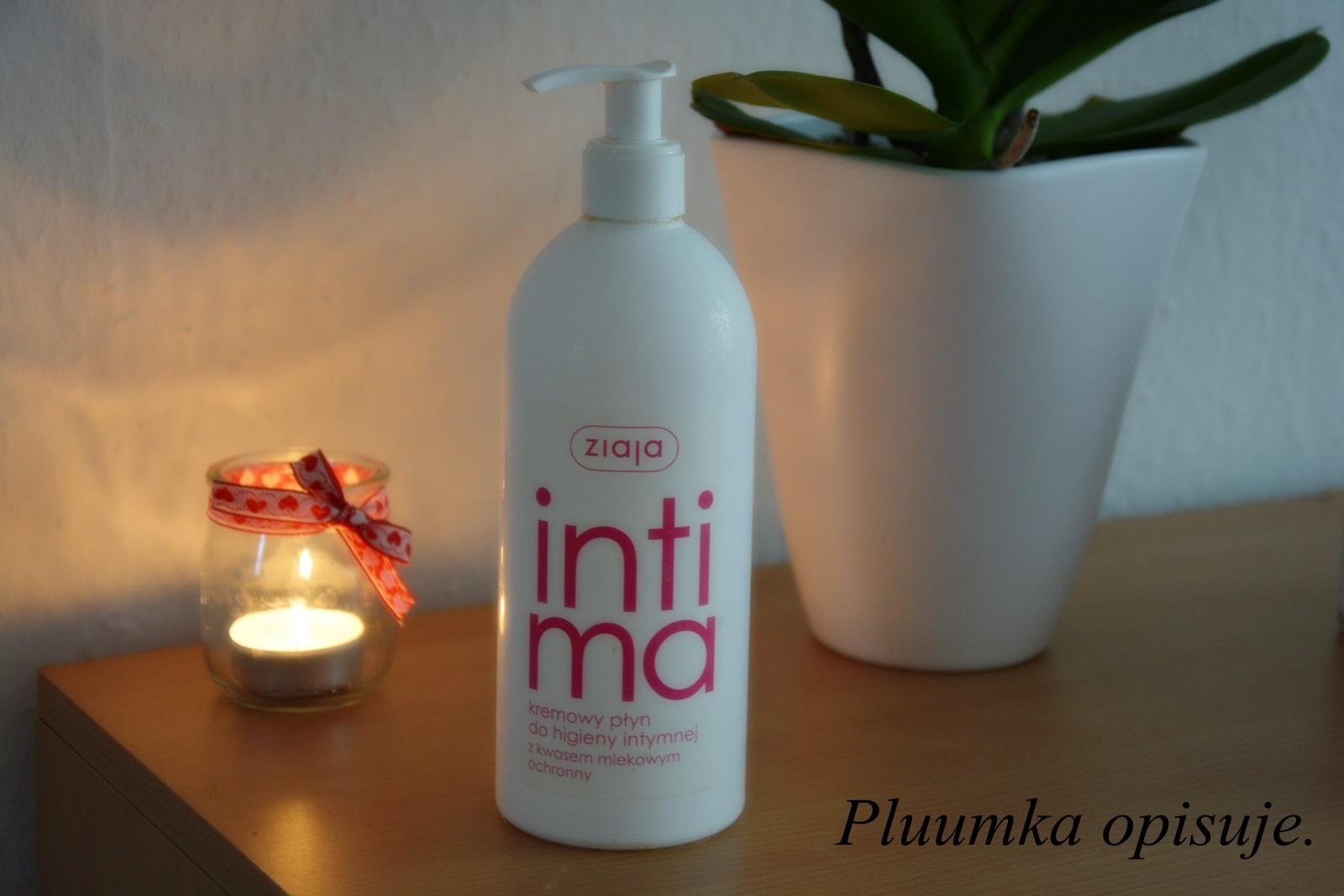 Ziaja intima - kremowy płyn do higieny intymnej z kwasem mlekowym