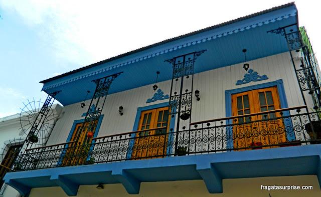 Casarão colonial no Casco Viejo da Cidade do Panamá