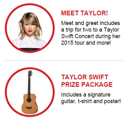 meet taylor swift contest 2014 subway