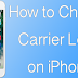 How To Change Carrier Logo On iPhone Without Jailbreak