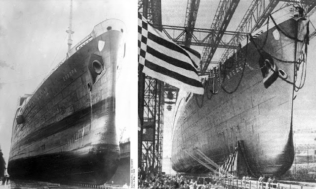 prior to the launch of Bremen and Europa