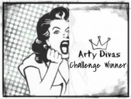 Winner at Arty Divas Challenge 31