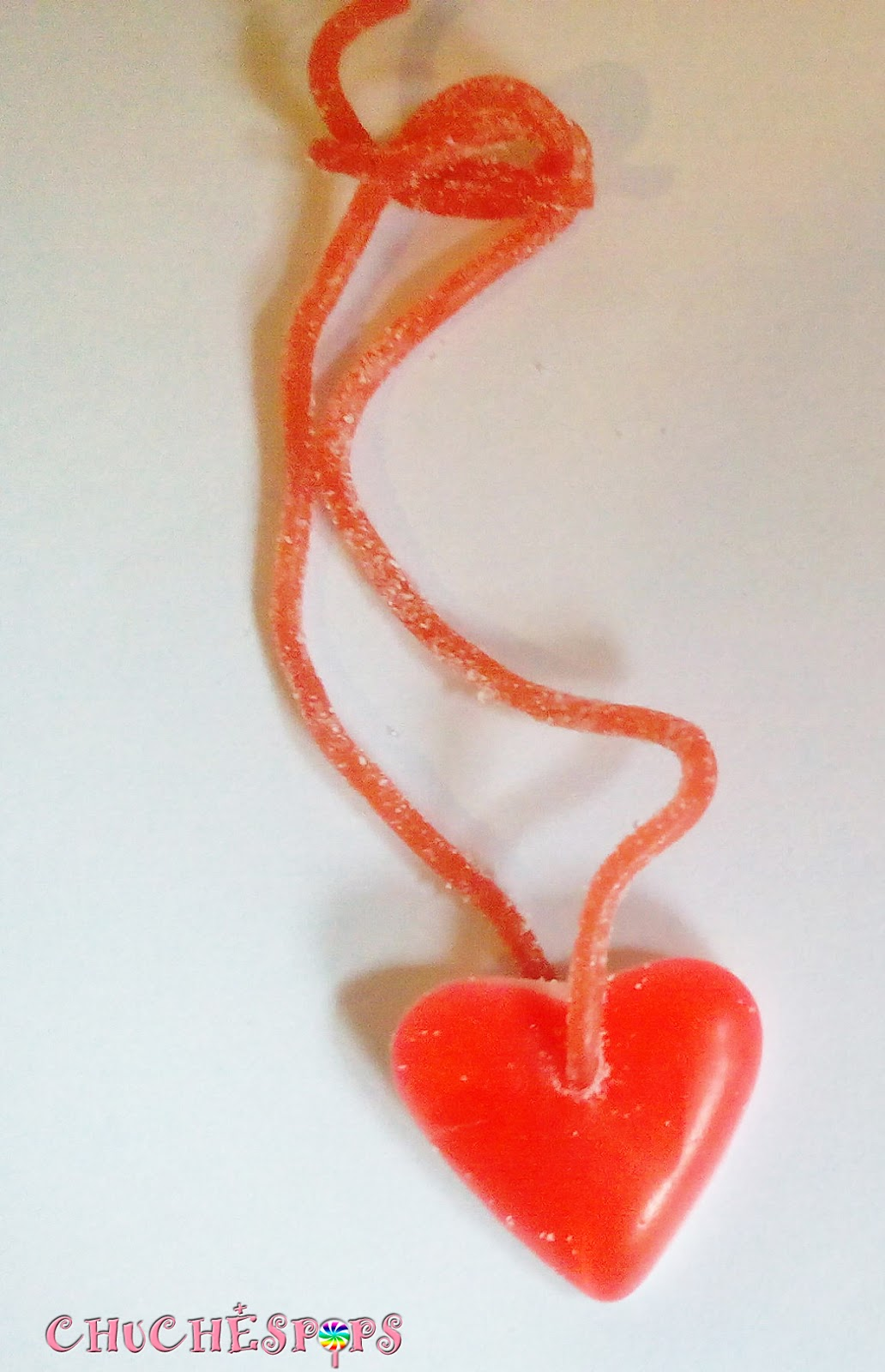 Collar de chuches Colgante corazon chuches