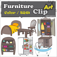 Furniture Clip Art