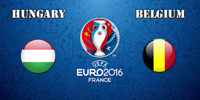اهداف مباراة بلجيكا والمجر اليوم الاحد 26 يونيو 2016 وملخص كورة يوتيوب نتيجة لقاء زملاء هازارد في ثمن نهائي يورو 2016