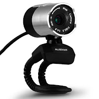 AUSDOM Webcam AW335 Widescreen Video Calling and Recording 1080p Camera