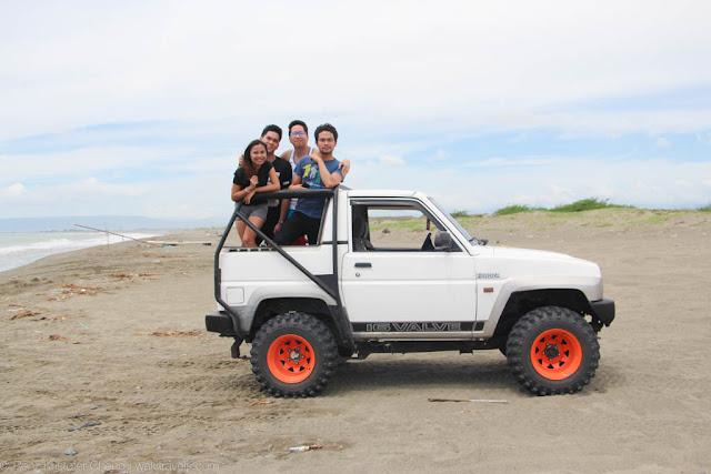 La Paz Sand Dunes in Ilocos Norte