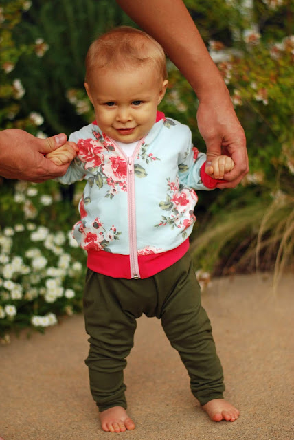 Bomber Jacket Pattern for Baby