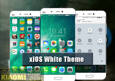 download Tema MIUI Xiaomi xiOS White Theme mtz Terbaru