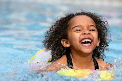 child swimming - water safety