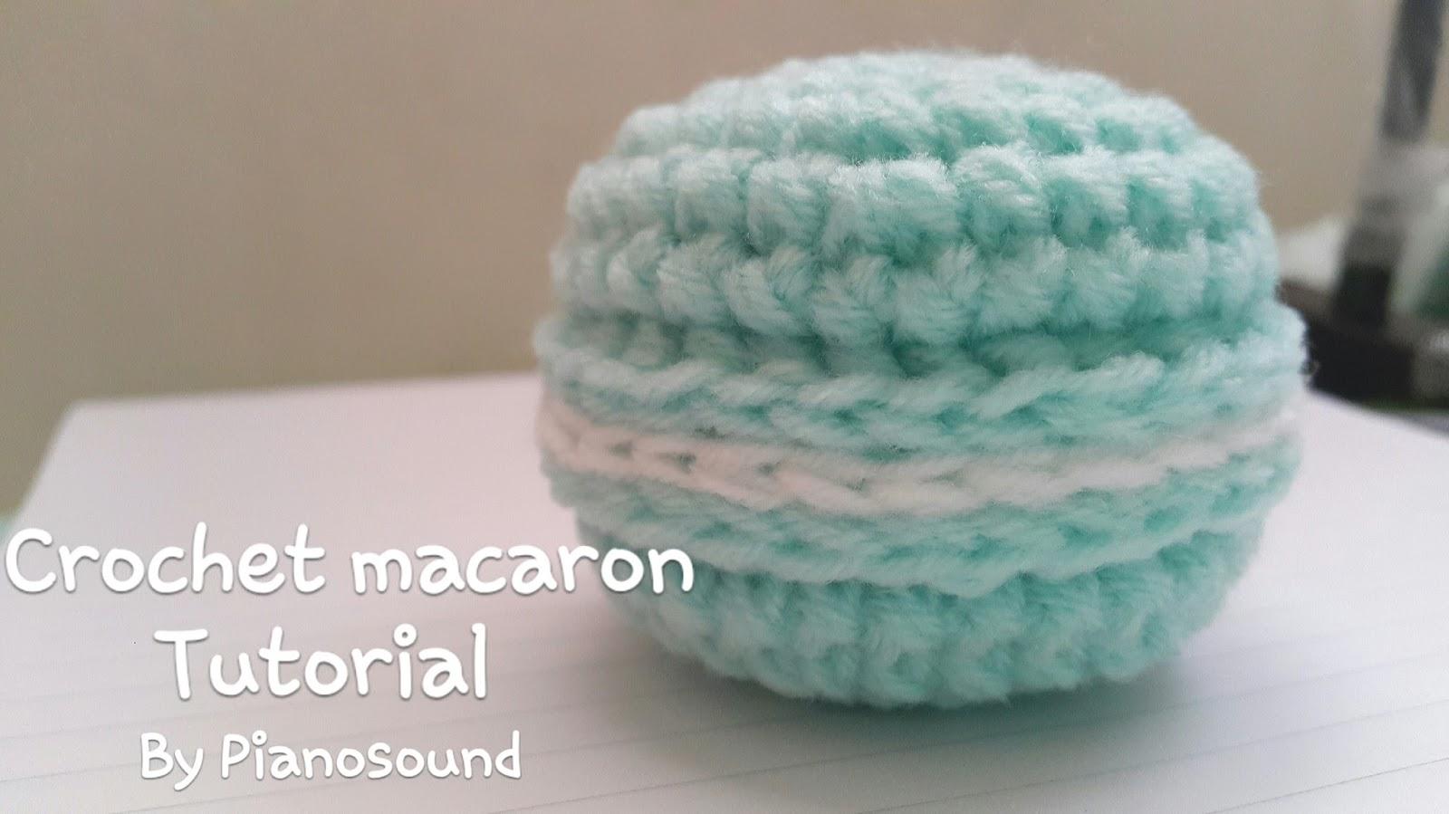 Amigurumi Food : Amigurumipianosound crochet free crochet amigurumi macaron