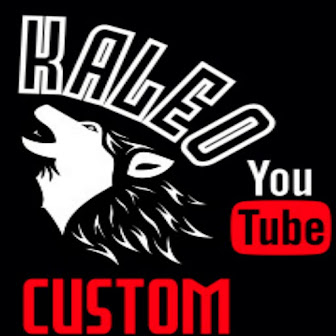 Canal do You Tube - Kaleo Custom.