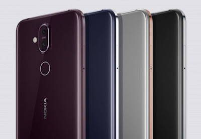 Nokia X7 Colors