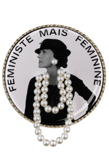Coco Chanel brooch