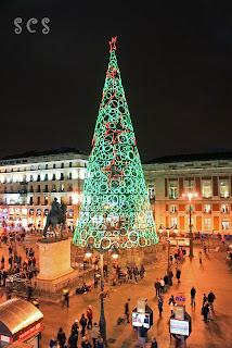 Árbol de Navidad, Puerta del Sol (Madrid) by Susana Cabeza
