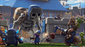 Animation Giant Skeleton Wallpapers Clash Royale