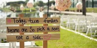 Mengatakan bahwa pernikahan sang anak batal