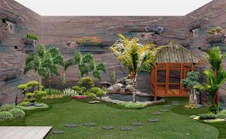 gambar jasa pembuatan taman sulawesi