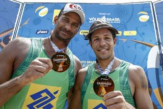 João Pessoa sedia final do Circuito Brasileiro de vôlei de praia em abril