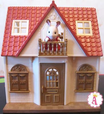 2 этажный дом для кукол Sylvanian Families