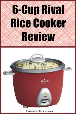 This small Rival rice cooker with steamer basket is the perfect size for our small family. Here's my review.