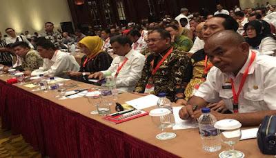 Sayed Jafar Hadiri Rakornas Penanganan Konflik Sosial