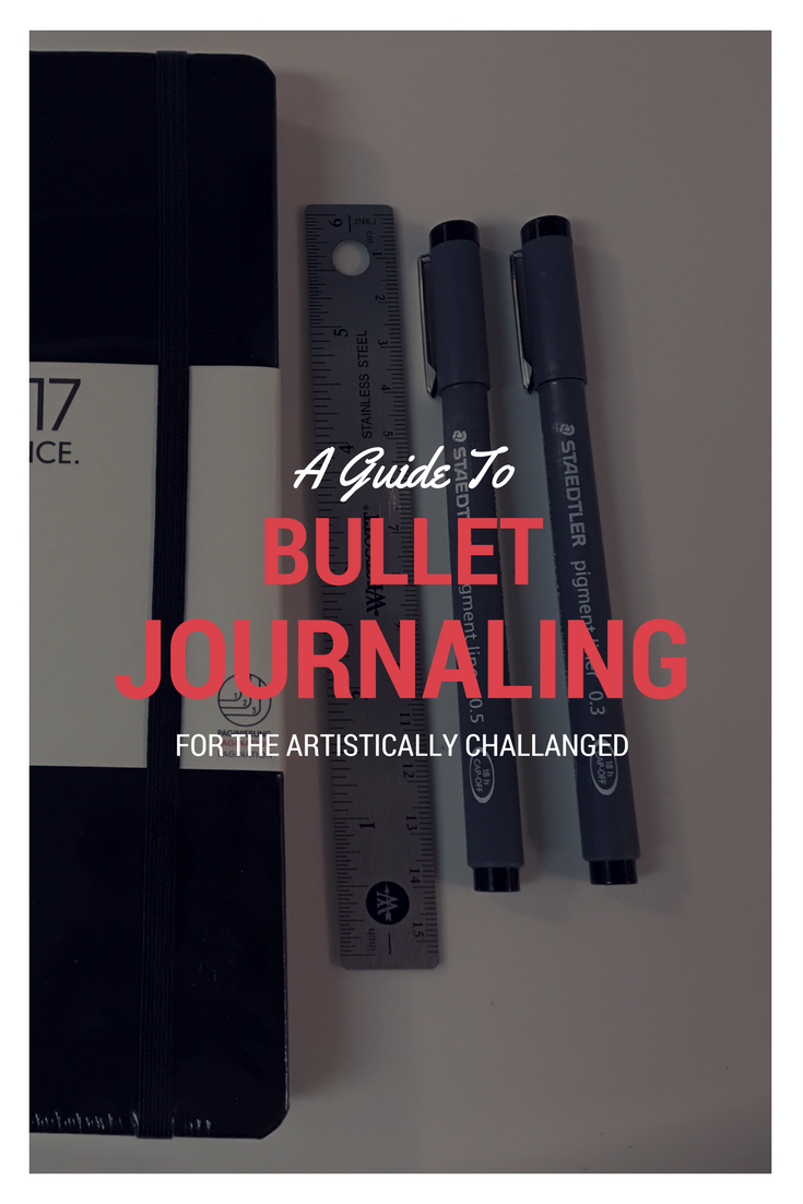 Bullet Journaling For The Artistically Challenged