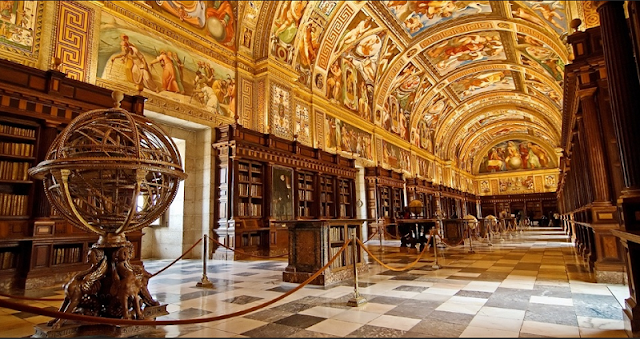 Biblioteca do El Escorial em Madri