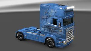 Swedish Defenders skin for Scania RJL