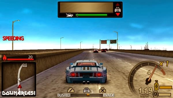 Need For Speed Undercover PSP ISO - Download Game PS1 PSP ...