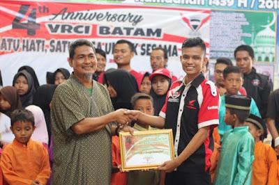 Berbagi Keceriaan - 4Th Verza Rider Community Indonesia - Batam