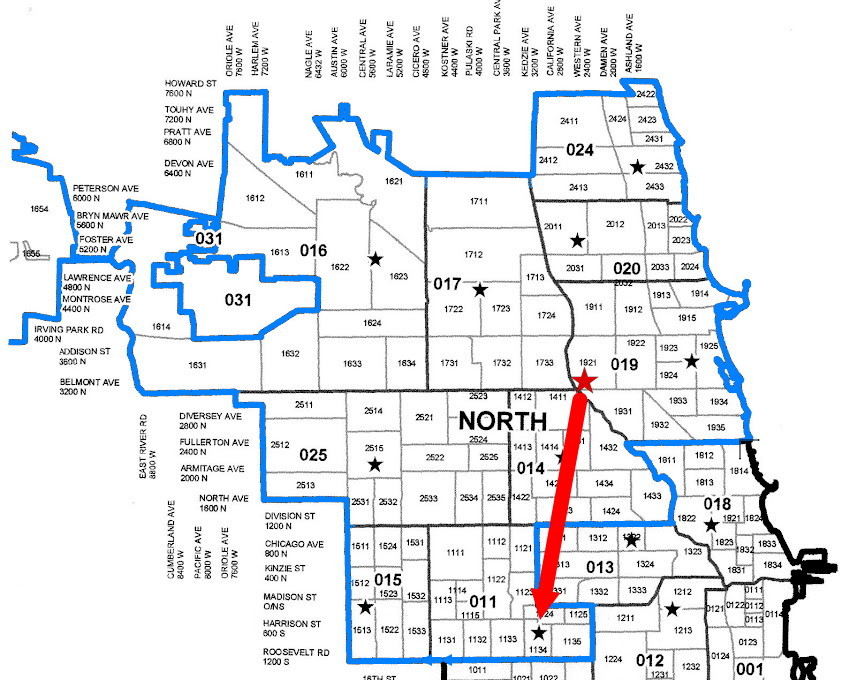 chimetrogirl chicago to lose area north police detectives