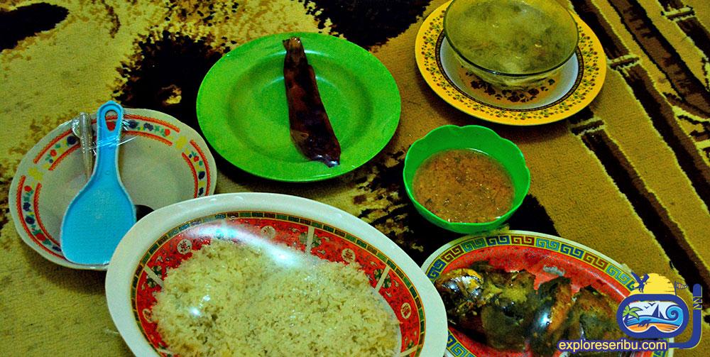 hidangan wisata pulau tidung
