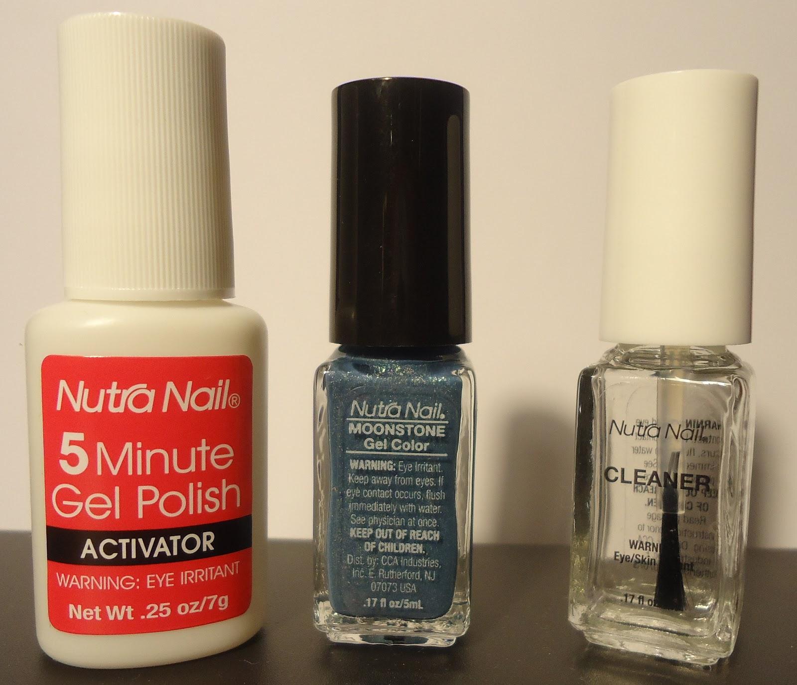 Nutra nail 5 minute gel polish
