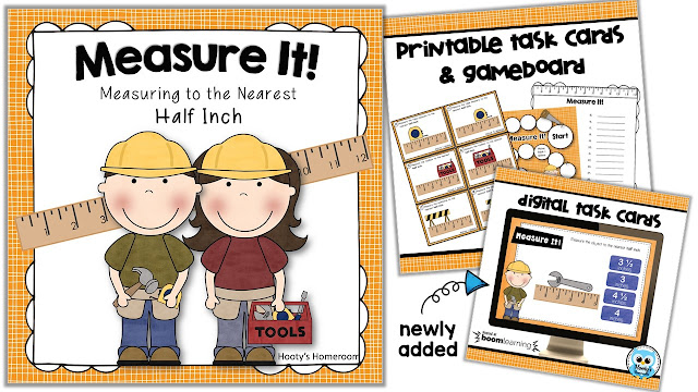https://www.teacherspayteachers.com/Product/Games-and-Activities-for-Measuring-to-the-Nearest-Half-Inch-257178