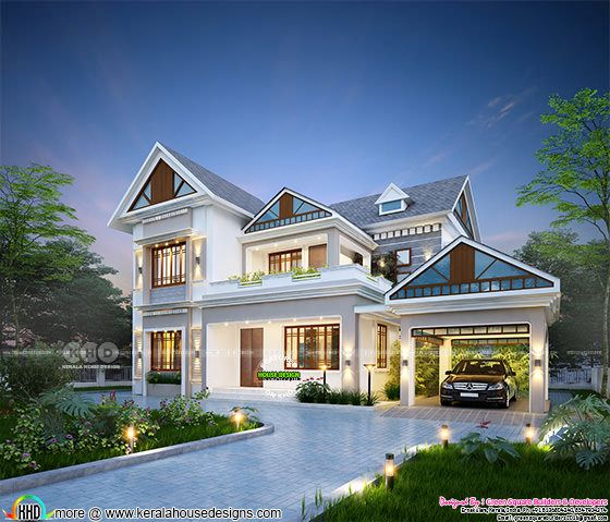 Fantastic new home at Valiyaparambu, Maala