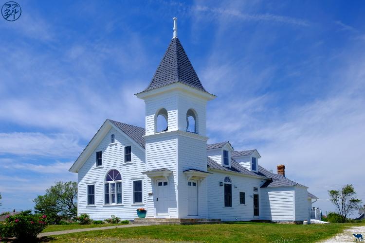 Le Chameau Bleu - Blog Voyage Block Island - Maisons typiques de Block Island -USA