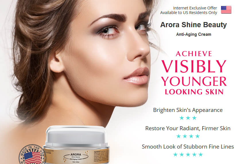 Arora Shine - Anti-Aging Cream Free Trial