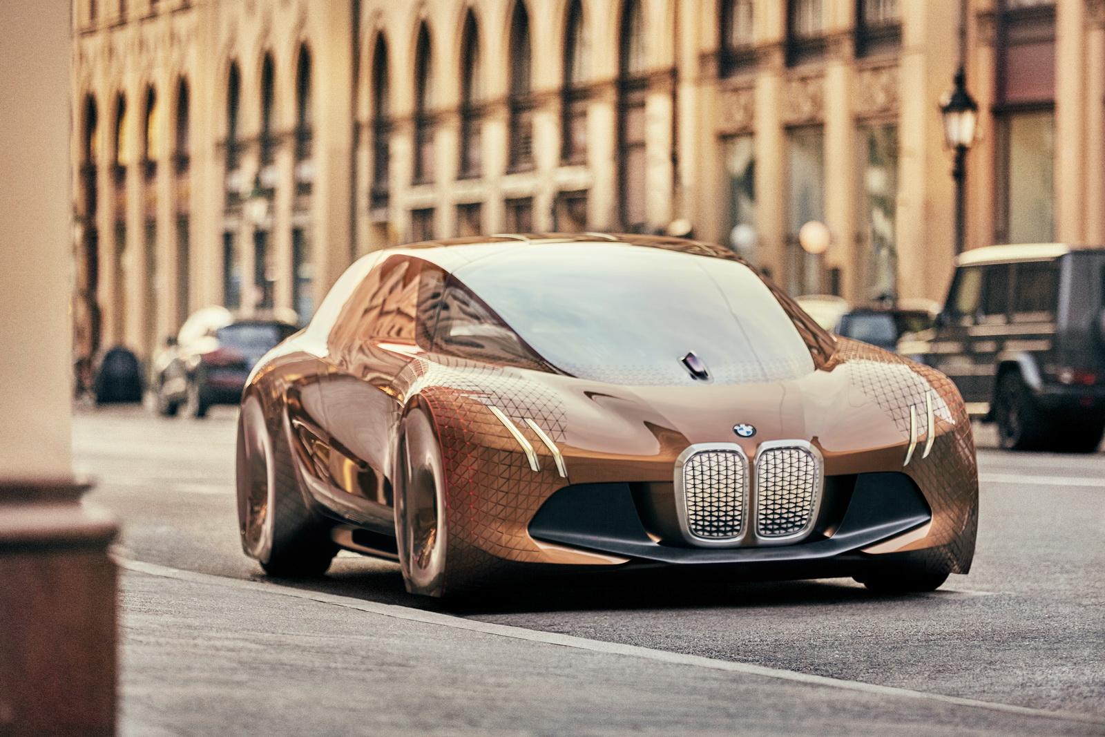 Những dòng xe như BMW Vision 100 Concept sẽ là tương lai của BMW?