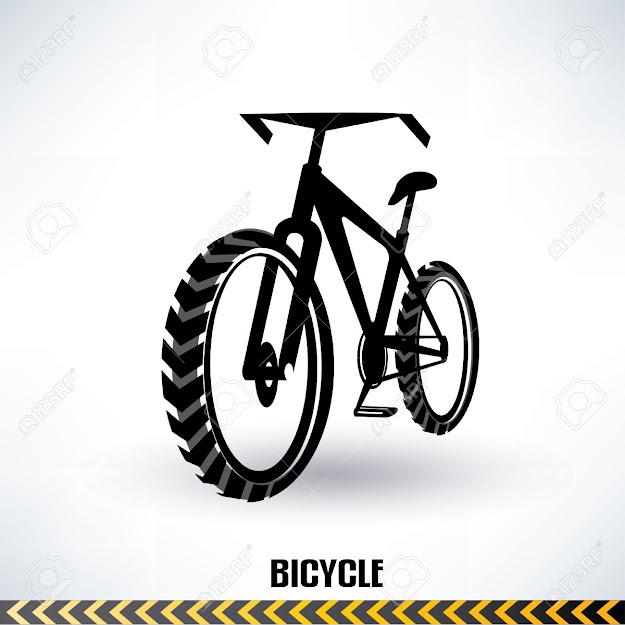 Vector  Mountain Bike Vector Symbol