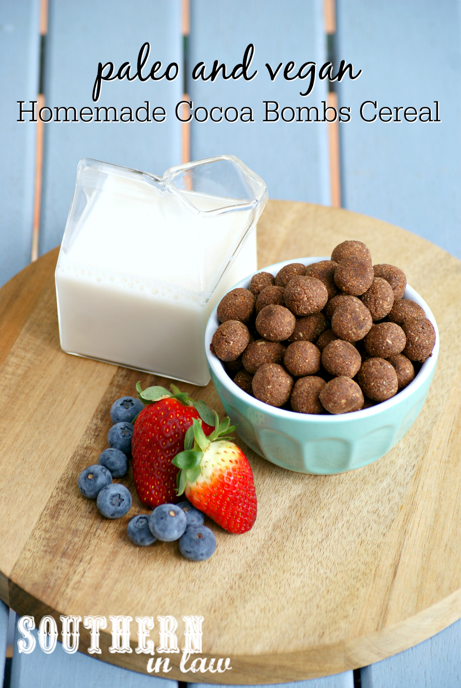 Southern in law recipe homemade paleo cocoa bombs cereal vegan and lets be honest delicious things in the world i decided to make my own and thus this delicious paleo cocoa bombs cereal recipe was born ccuart Choice Image