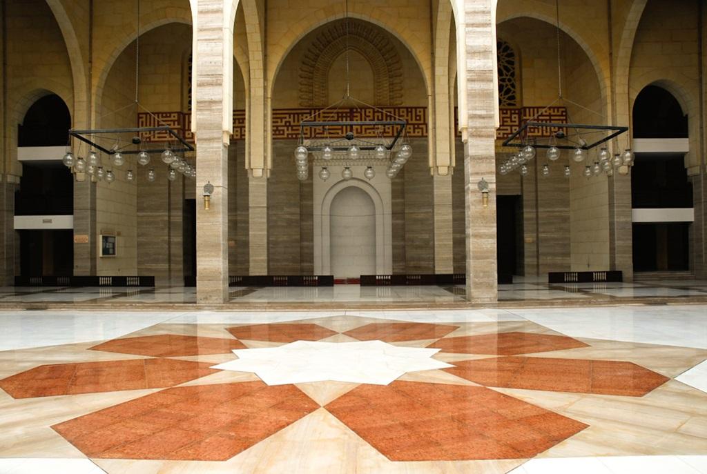 Mosque Detail: Al Fateh Grand Mosque Bahrain