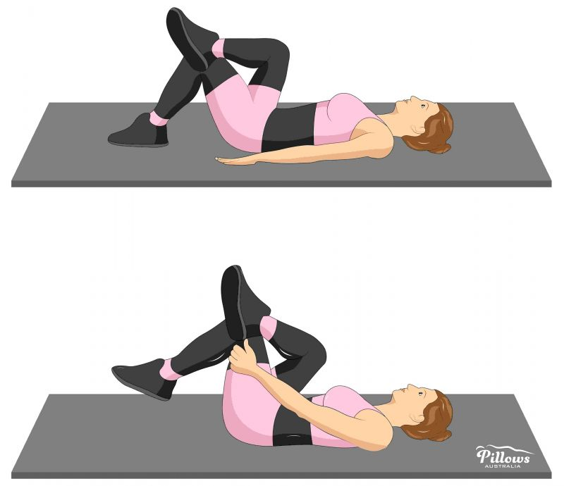 18 Easy Stretches In 18 Minutes To Help Reduce Back Pain - GLUTEAL STRETCH