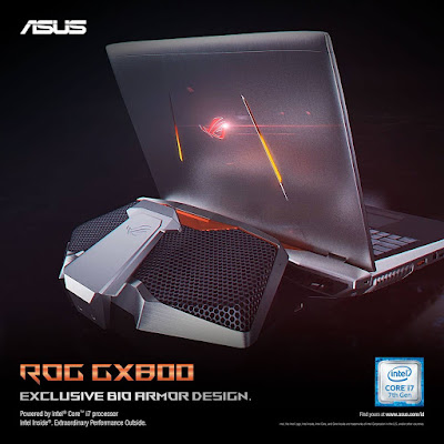 ASUS ROG GX800 Bio Armor Design