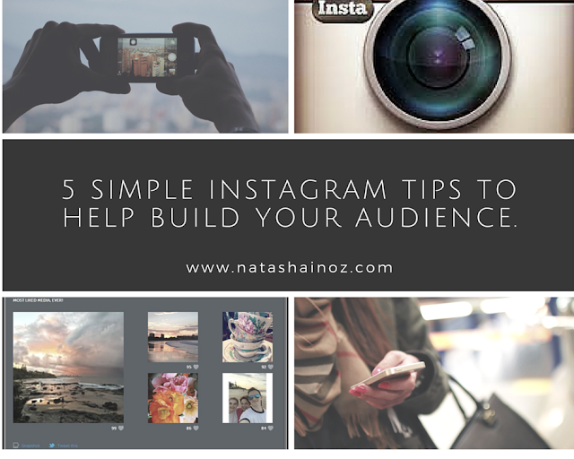 5 Simple Instagram tips to help build your audience