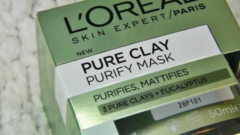 Recenzija: Djeluje li L'oreal Pure Clay maska za lice?