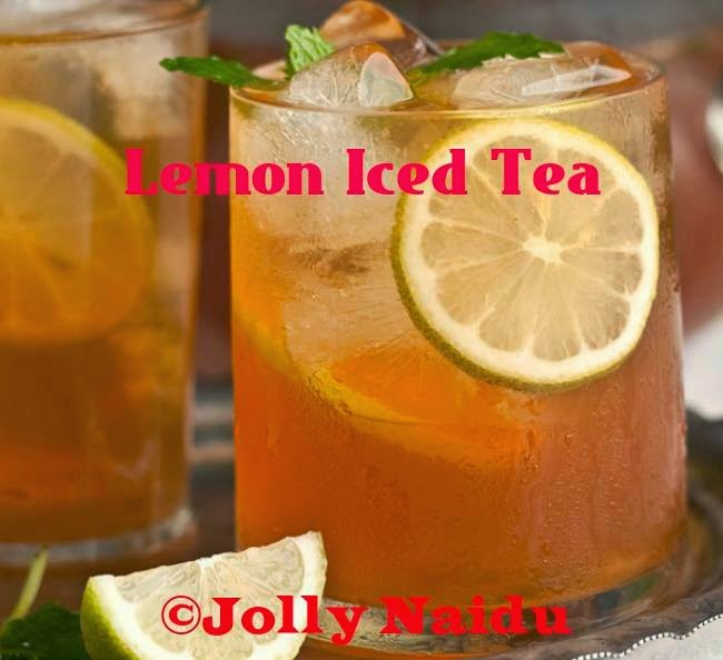 Homemade Lemon Iced Tea | Refreshing Drink Recipe